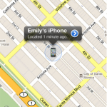 This is how it looks when your phone is located