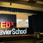 TEDx Xavier School stage