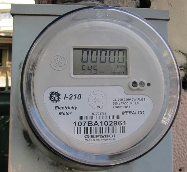 Digital Electric Meter Hacking : My meralco electric meter is finally digital life take